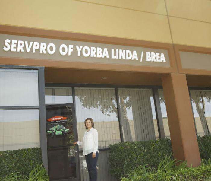 SERVPRO Hero Building: A water, fire, mold remediation and removal company in Anaheim Hills