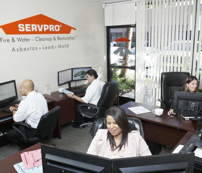 SERVPRO Admin. Office: A water, fire, mold remediation and removal company in Anaheim Hills