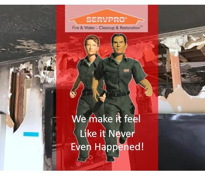 Fire Damage Preparing for The Worst, Hoping for the Best.  SERVPRO Anaheim Hills.  Fire Remediation.